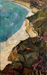 falaises à guéthary by bessie ellen davidson