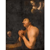 saint in ecstasy by giuseppe antonio petrini