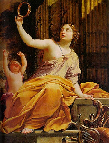 Erato, the Muse of Love Poetry...