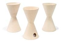 planters (3) (model nos. t-102 and th-02) by la gardo tackett