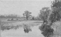 river landscape by stacy tolman