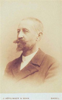 brustbildnis hans sandreuther by j. höflinger & sohn