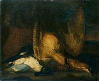 nature morte au canard by jan vonck