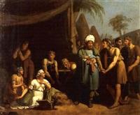 rencontre de david et d'abigaël by alexandre-francois caminade