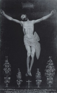 la crucifixion by jose ibarra