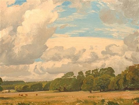 sussex landscape by phillip douglas maclagan