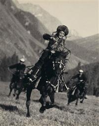 reiterin aus tadschikistan by max vladimirovitch alpert