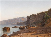 view of sorrento by victor favier
