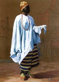 l'africaine au collier by louis eugène glasser