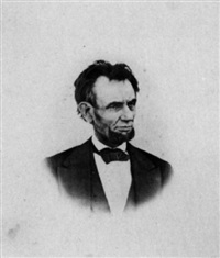 the last photograph of president lincoln taken on the balcony of the white house, march 6, 1865 by henry f. warren