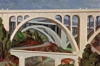 pasadena bridge (colorado street bridge) by frode nielsen dann