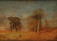 prairie en automne by jules dupré