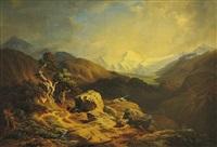 horské zákoutí by friedrich wachsmann
