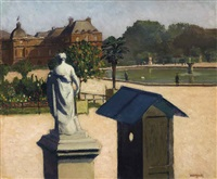 au luxembourg by albert marquet