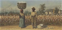 the cotton field by william aiken walker