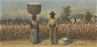 the cotton field by william aiken walker