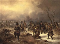 bayerische truppen in der schlacht by alois bach
