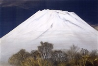 99 years of mount fuji (auspicious) by misao yokoyama