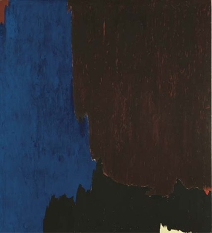 1955 k by clyfford still