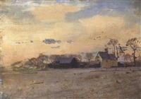 chuch farm, wenhaston by allan gwynne-jones