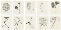 homely girl, a life, volume i (set of 10) by louise bourgeois