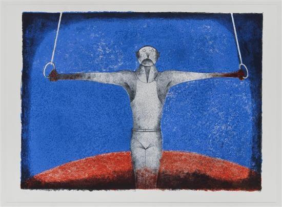 cruz de hierro el gimnasta by rufino tamayo