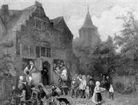 verkooping van den inboedel van den notaris by jan fabius
