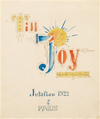 till joy (to joy) by gösta (gan) adrian-nilsson