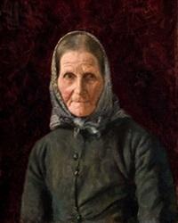 retrato de campesina by ventura alvarez sala