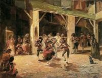 baile en el patio by emilio alvarez díaz