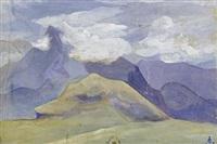 mountain range by svetoslav nikolaevich roerich