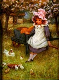 feeding the chicks by william affleck