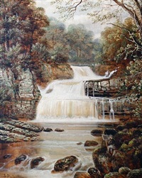waterfall by edward priestley