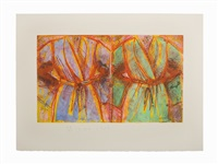 behind the thicket by jim dine