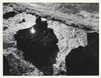 sun in rock by minor white