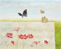 butterflies by kyu-baik hwang