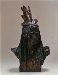 chief crazy horse by theodore baur