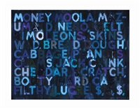money by mel bochner