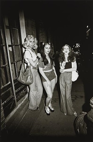 marlene colette and naomi on the street boston by nan goldin