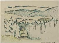 oberneukirchen (+ formentor (mallorca); 2 works) by egon hofmann-linz