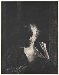 walter, from: portraits by george segal