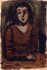 portrait of a woman by kotaro migishi