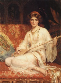 the dancing girl by william clarke wontner