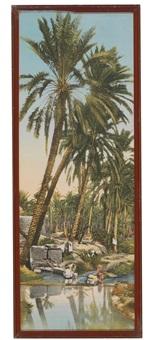dans l'oasis (2 works) by lehnert & landrock