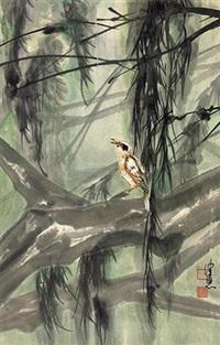 林间小鸟 by chen peiqiu