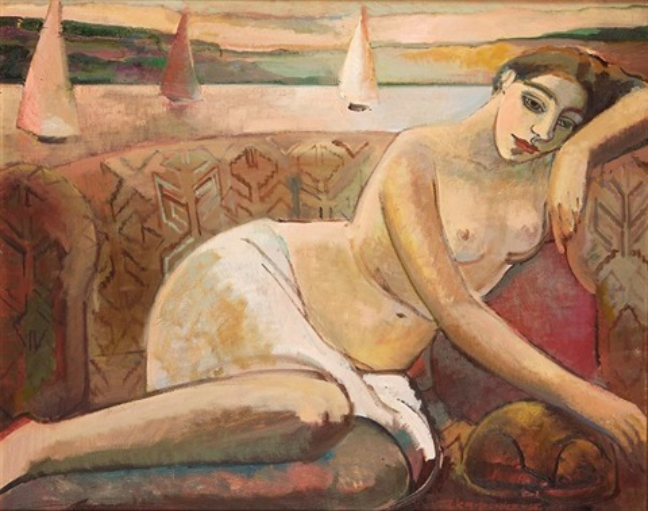sjesta kobieta na sofie ii by anna karpowicz westner