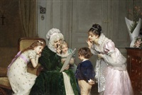 his first school report by louis emile adan