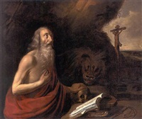 the penitent saint jerome by hendrick van somer