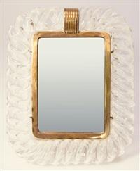 tischspiegel barovier & toso by barovier & toso (co.)