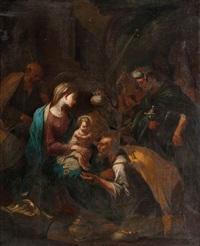 l'adorations des rois by valerio castello